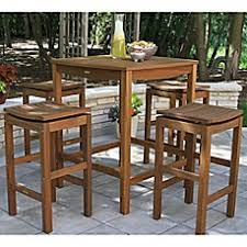 Outdoor Bar Patio Furniture Patio Tables Bars Outdoor Patio Dining Tables Bed Bath Beyond