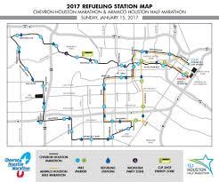 Marathon Route Map by 2017 Race Day Information Chevron Houston Marathon