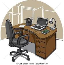 bureau clipart office work place vector clipart search illustration drawings