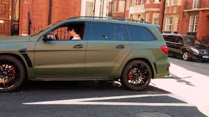 green mercedes brabus mercedes benz gl b63s 700 widestar biturbo in green matte