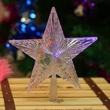 lighted star tree topper online lighted star christmas tree