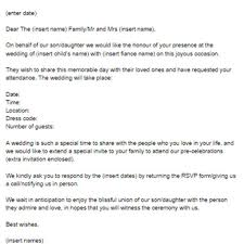 wedding invitation letter for us visa sle 28 images invitation
