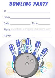 best 25 bowling party invitations ideas on pinterest bowling