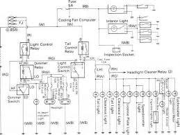 lighting circuit diagram toyota land cruiser fj4 6 bj4 repair
