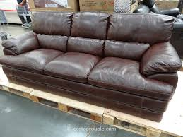 living room leather reclining sofa costco black futon canada