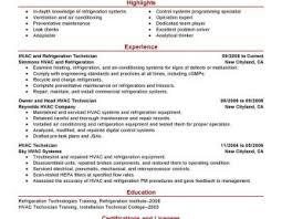 hvac resume exles hvac technician resume exle images motor mechanic orthopedic