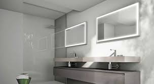 illuminated wall mirrors for bathroom led illuminated bathroom