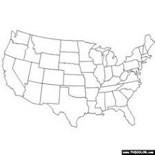 map of united states united states map printable blk and white color in union