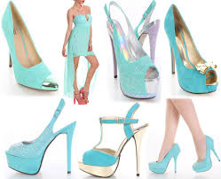 Colors That Look Good With Green Pink Heels For A Summer Swimsuits And Clubwear