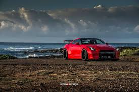 Nissan Gtr Red - picture perfect liberty walk nissan gt r photoshoot in oahu