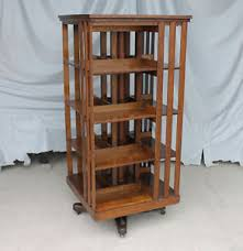Mission Style Bookcase Antique Revolving Oak Bookcase U2013 Original Finish U2013 Danner