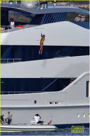 Yacht Meme - beyonce jumps off giant yacht in italy see the photos photo