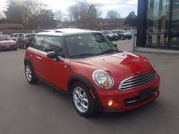 pre owned 2013 mini cooper chili red on black leatherette sunroof