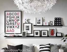 ikea mosslanda ikea picture ledge floating book shelf spice rack holder wall