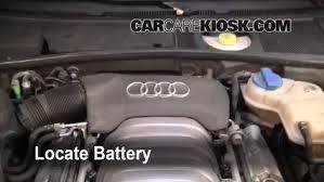 audi a6 3 0 l battery replacement 1998 2004 audi a6 2004 audi a6 3 0l v6