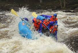 Rock Gardens Rafting The Peshtigo River