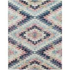 Purple And Turquoise Area Rug Modern Pink Area Rugs Allmodern