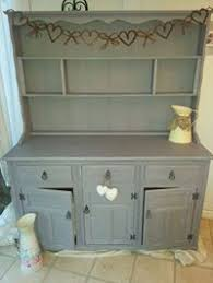 new handmade painted pine welsh dresser 5ft new painted