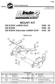 fisher minute mount 2 7168 wiring diagram fisher plow relay