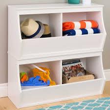 stackable storage cubby two bin monterey in toy storage