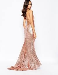 gold maxi dress rosegold sequin maxi dress dresscab