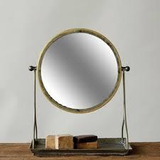 Metal Framed Bathroom Mirrors by Modern Freestanding Bathroom Mirrors Allmodern