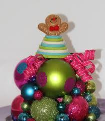 christmas centerpiece gingerbread man christmas decoration