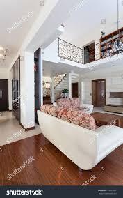 classy house living room mezzanine second stock photo 129953501 classy house living room mezzanine and second floor