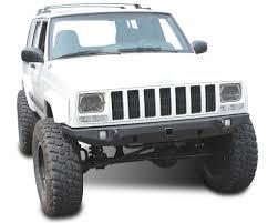 cherokee jeep xj jeep cherokee front bumper crusader jeep xj 84 01 jcroffroad