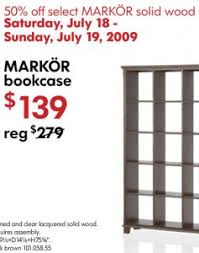 Ikea Markor Bookcase For Sale Ikea 50 Off Markör Series Free Breakfast Frugal Bon Vivant Blog