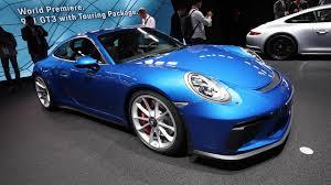 porsche blue gt3 blue porsche 911 gt3 touring package looks stunning in frankfurt