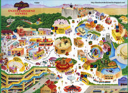 Universal Orlando Map Awesome 1992 Ush Map Inside Universal Forums