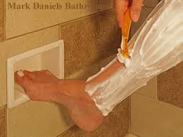 best 25 recessed shower shelf ideas on pinterest shower storage