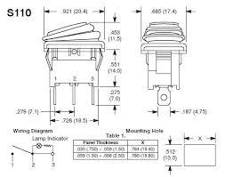lighted rocker switch wiring diagram 120v lighted rocker switch wiring diagram in addition to trim tab wiring