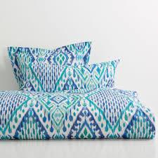 ikat print bed linen bed linens zara home and linen bedroom