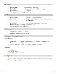 resume format for engineering freshers pdf sle resume format for mechanical engineering freshers filetype