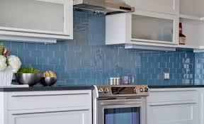glass kitchen backsplash tile blue kitchen backsplash tile glazed tiles design ideas