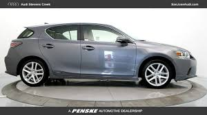 lexus stevens creek pre owned used 2016 lexus ct 200h for sale in san jose ca serving