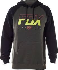 fox motocross shocks fox crewz crew pullover fleece men u0027s clothing black fox bicycle