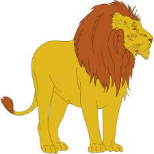cartoon lion clip art clker vector clip art