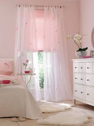 Pale Pink Curtains Decor Light Pink Bedroom White Furniture With Black Hardware Flowy