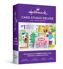 Software For Invitation Card Making Amazon Com Hallmark Card Studio 2016 Deluxe