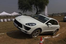 porsche macan and cayenne porsche macan and cayenne s day out roading capable and