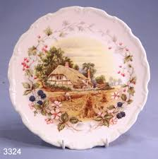 royal albert cottage garden year series autumn bone china display