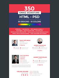 Free Professional Templates 12 Professional Email Signature Templates With Unique Designs