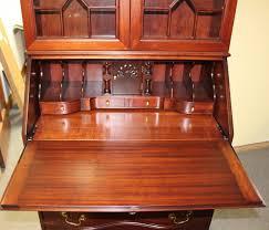 Large Secretary Desk by Tonawanda Woodworks Secretary Desk