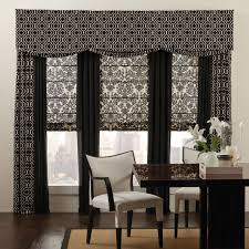 mix and match different patterns with printed valances solid