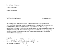 recommendation letter template best business template
