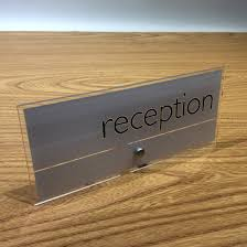 Reception Desk Signs Reception Desk Signs To Any Size With Any Graphics Personalized