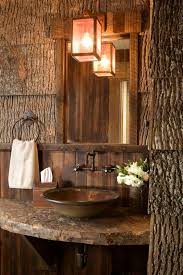 Log Cabin Bathroom Ideas Colors Top 25 Best Cabin Bathrooms Ideas On Pinterest Country Style
